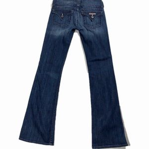 Hudson Boot Cut Jeans with Flap Pockets